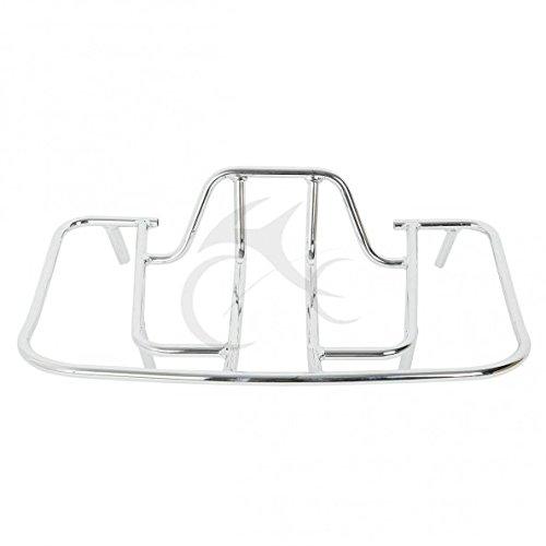 Tcmt Chrome Tourbox Mounting Luggage Rack For Honda Gl1800 Goldwing 1800 2001-2013 Us