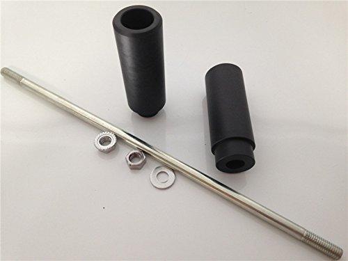 No Cut Frame Slider Crash Protector For Suzuki Sv650 S Sv1000 Dl650 Dl1000 Bk