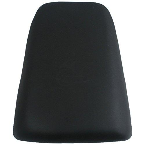 XFMT Black Motorcycles Leather Rear Pillion Passenger Cushion Seat For Suzuki SV650 Suzuki SV1000 2003 2004 2005 2006 2007 2008 2009 2010