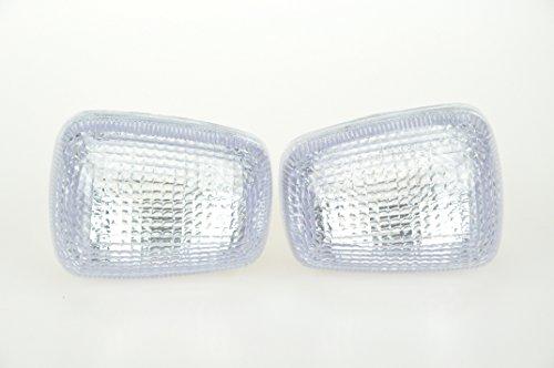 Clear Motorcycle Indicators Turn Signal Lens For Suzuki 96-99 GSXR600750 97-04 TL1000 99-04 SV650 99-07 GSXR1300 98-04 Katana