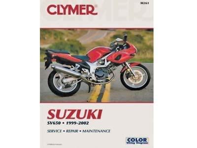 Clymer Manual Suzuki Singles SV650 99-02