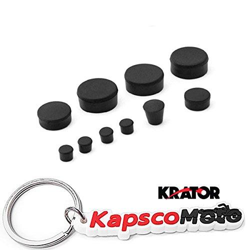 Krator 2006-2010 Suzuki GSXR 600 750 Rubber Frame Fairings Plugs Set Motorcycle  KapscoMoto Keychain