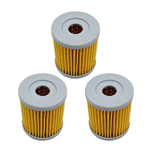 AHL 132 Oil Filter for Suzuki AN400 Burgman 400 1999-2006 3pcs