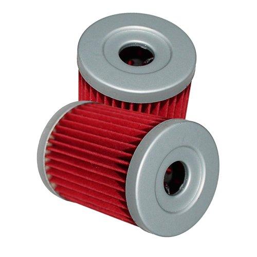 Caltric Oil Filter Fits Fits SUZUKI AN400 AN400S BURGMAN 400 1999 2000 01 02 03 04 05 2006 2-PACK