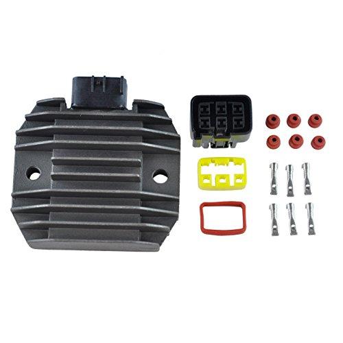 Voltage Regulator Rectifier For Suzuki Burgman 400 KingQuad LTA400 LTF400 TU250X 2003-2017 OEM Repl 32800-14G00 32800-20H00