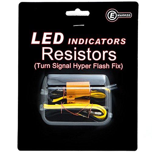Krator Led Bulb Load Resistors Flash Turn Signal Fix For Suzuki Boulevard M109R C109R C50 C90 S40 S50 S83