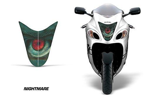 AMR Racing Sport Bike Headlight Eye Graphic Decal Cover for Suzuki Hayabusa 1300 08-14 - Nightmare