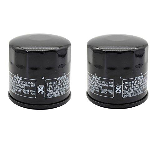 Cyleto Oil Filter for SUZUKI GSX1300R GSX1300 R HAYABUSA 1300 1999-2015  Pack of 2