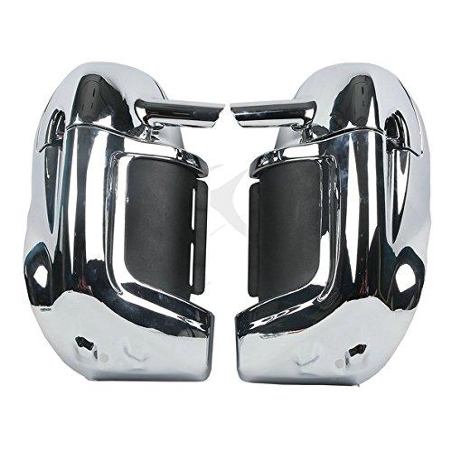 Tengchang Chrome Lower Vented Leg Fairings For Harley Touring Road King Glide 1983-2012 FLHT FLHTCU FLHRC
