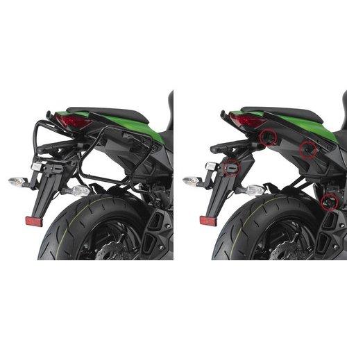GIVI V35 Monokey Side Rapid Release Pannier Rack Kawasaki Z 1000 SX 11-13