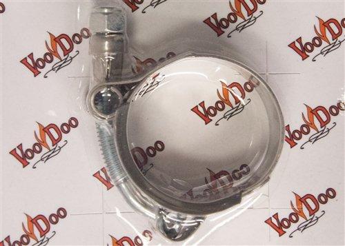 VooDoo Industries C225 Silver Exhaust Clamp