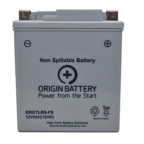 Origin ORX7LBS-FS Battery Replaces PTX7L-BS X7L-BS and YTX7L-BS Units