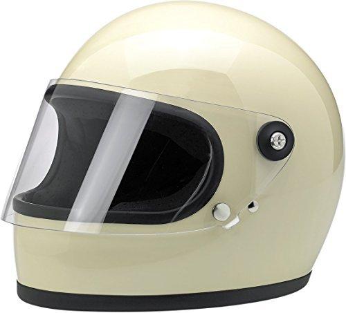 BILTWELL Gringo S Helmet Plastic-Polycarbonate Solid Flat White X-Small