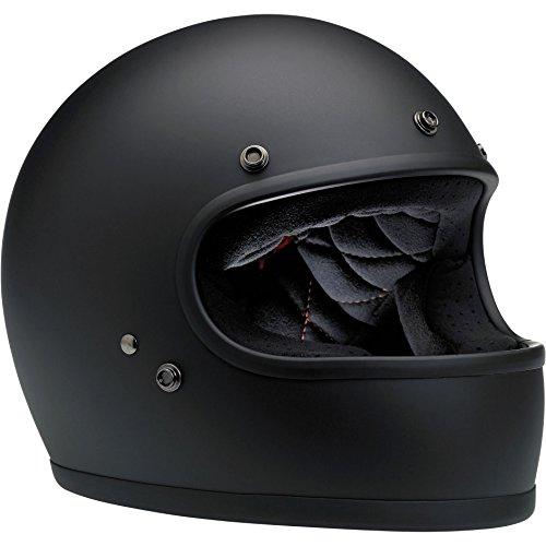 Biltwell Gringo Full Face Helmet Flat Black Large