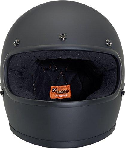 Biltwell Gringo Gloss Helmet - SmallBlack