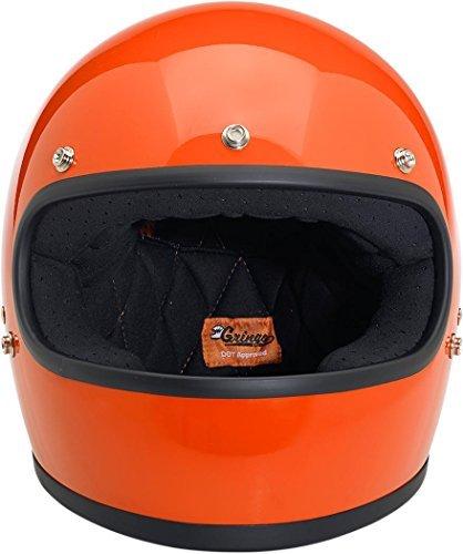 Biltwell Gringo Gloss Helmet - SmallHazard Orange