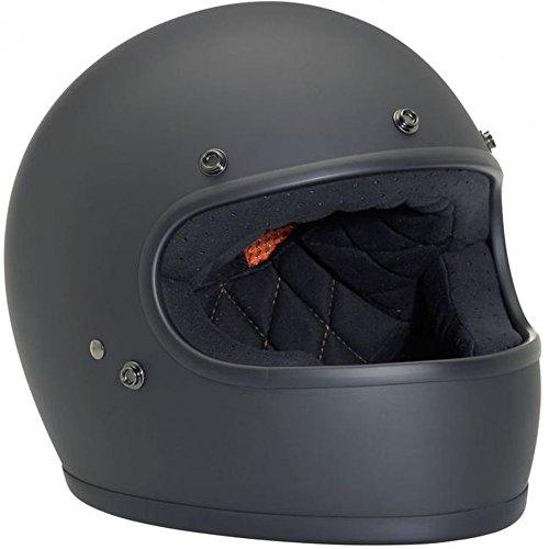 Biltwell Gringo Helmet - Flat Black Small