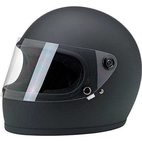 Biltwell Gringo S Helmet - Flat Black Small