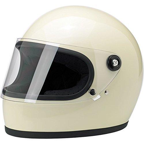 Biltwell Gringo S Helmet - Gloss Vintage White Large