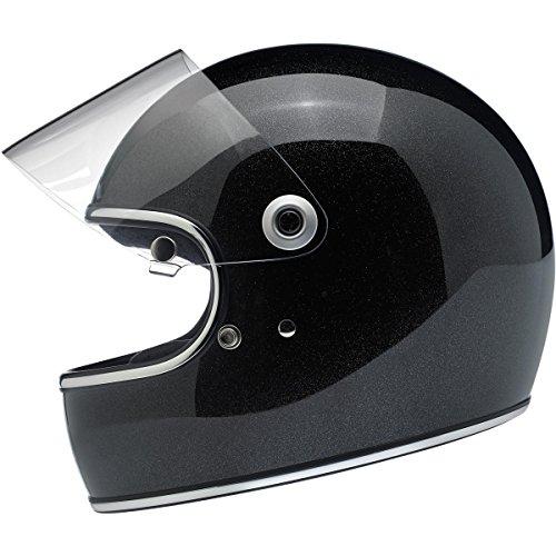 Biltwell Gringo S Helmet - Midnight Black Miniflake - Medium