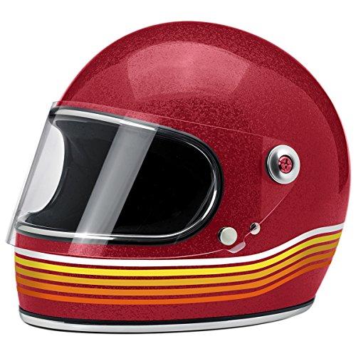 Biltwell Gringo S Solid Full-face Motorcycle Helmet - Spectrum Wine Red  X-Large