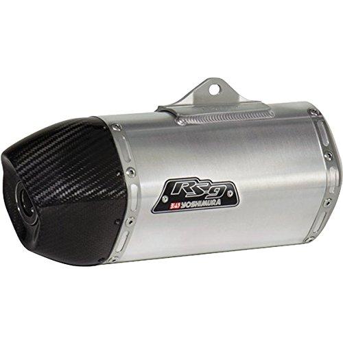 Yoshimura RS-9 StainlessAluminum Slip-On Honda Grom 125 - EPA Noise Compliant