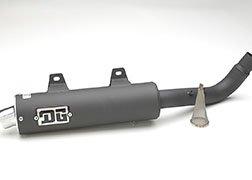 DG PERFORMANCE 051-4180 Sport Series Slip-On Exhaust
