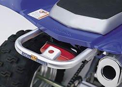 DG Performance 59-4216 - Alloy Grab Bar Ball Burnished for Yamaha Raptor 660R 2001-2005