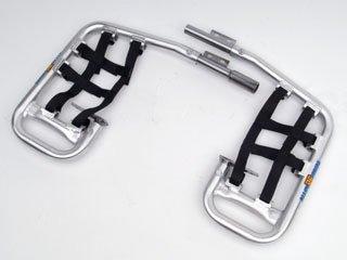 DG Performance 60-2102 - Alloy Series Nerf Bar - Aluminum fits Honda TRX 90 1993 - 2012