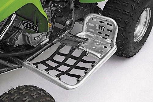 DG Performance HG Alloy Series Nerf Bars - Silver Bar - Black Web 607-4140