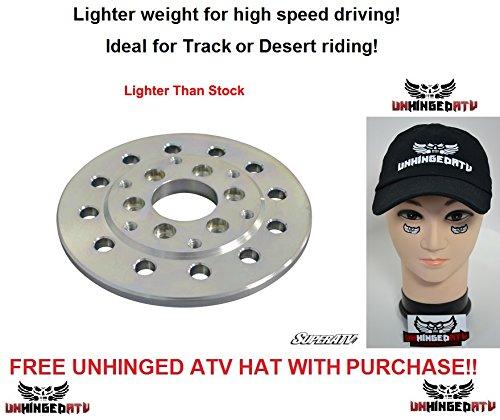 Bundle 2 items SuperATV Yamaha YXZ LIGHTWEIGHT Performance Flywheel and FREE Unhinged ATV Hat