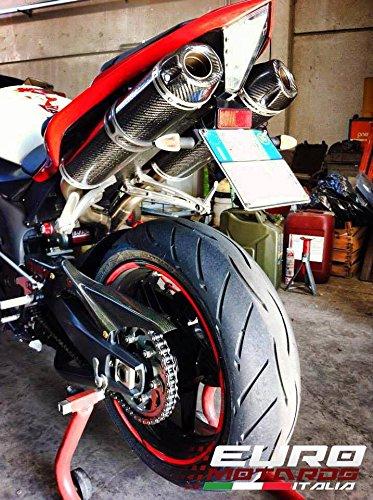 Yamaha R1 2009-2010 Silmotor Exhaust Dual Carbon Slipon Silencers Road Legal