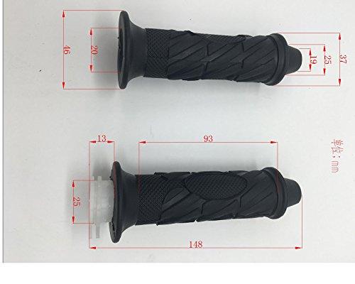 Mega Brands New Hand Grips Handle Grips Throtle Control Grips For Scooter Moped Atv Quads 50cc 150cc Taotao Roketa
