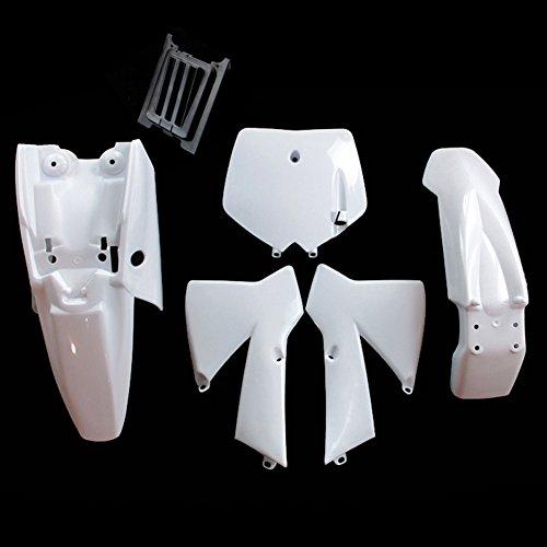 TC-Motor White Plastic Body Work Fender Fairing Kit For KTM50 MTK50 MT50 KTM 50cc Dirt Bike Mini Senior Junior Adventure SX SR JR