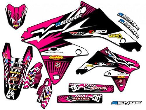 Senge Graphics 2005-2006 Suzuki RMZ 450 Mayhem Pink Graphics Kit