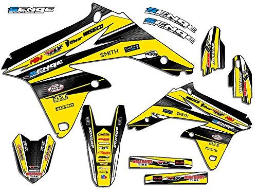 Senge Graphics 2005-2006 Suzuki RMZ 450 Vigor Yellow Graphics Kit