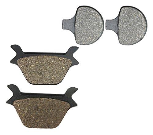 CNBK Carbon Brake Shoe Pads Set fit HARLEY DAVIDSON Street Bike FXR1340 FXR 1340 cc 1340cc FXR C456 1 87 88 1987 1988 4 Pads
