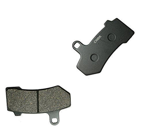 CNBK Front Left Brake Pads Resin fit HARLEY DAVIDSON Street Bike FLTRXS Road Glide Special 15 16 2015 2016 1 Pair2 Pads