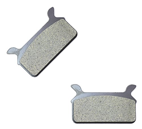 CNBK Rear Brake Shoe Pads Carbon fit for HARLEY DAVIDSON Street Bike FLHS 1340 Electra Glide Sport 90up 1990up 1 Pair2 Pads