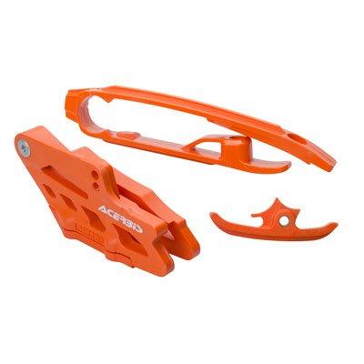 Acerbis Chain Guide and Slider Kit Orange for KTM 250 SX-F 2016-2018
