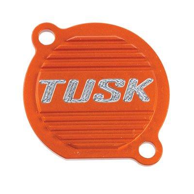 Tusk Aluminum Oil Filter Cover Orange -Fits KTM 250 SX-F 2005-2012