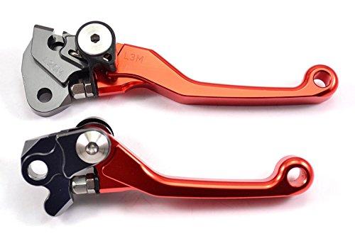 NEVERLAND Pair Pivot Brake Clutch Lever For KTM 250EXCEXC-FSIX DAYS 14-15250XCF-W 14300EXC 14300EXC 14350EXC-F 14-15