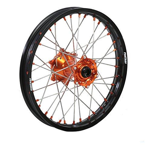 ProTrax Complete Rear Wheel Rim 19X185 Orange Hub KTM 250EXC 300 EXC MXC 91-05