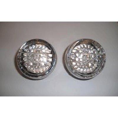 Custom Dynamics GEN200-AW-1157 Dynamic Ringz BULLET STYLE LED Turn Signal Inserts for Harley-Davidson C01009532