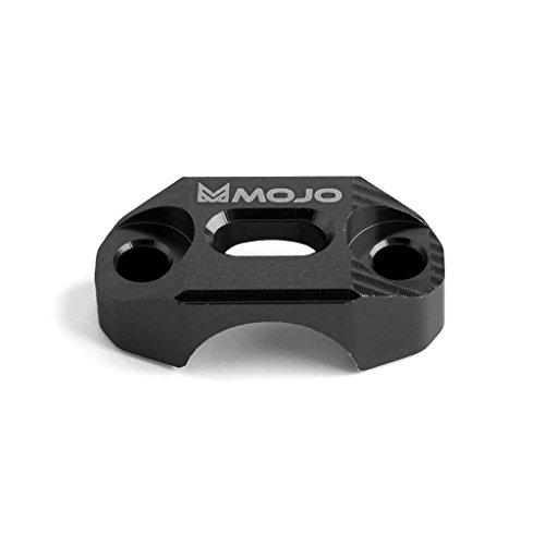 MojoMotoSport - KTM BrakeClutch Control Clamp - Black - CNC Billet Anodized Aluminum - MOJO-KTM-BCBLK