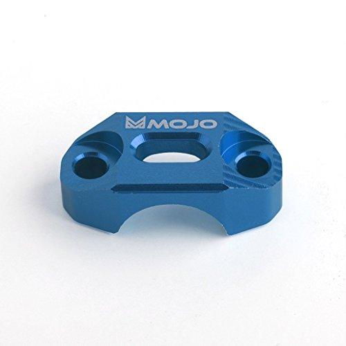 MojoMotoSport - KTM BrakeClutch Control Clamp Blue - CNC Billet Anodized Aluminum - MOJO-KTM-BCBLU