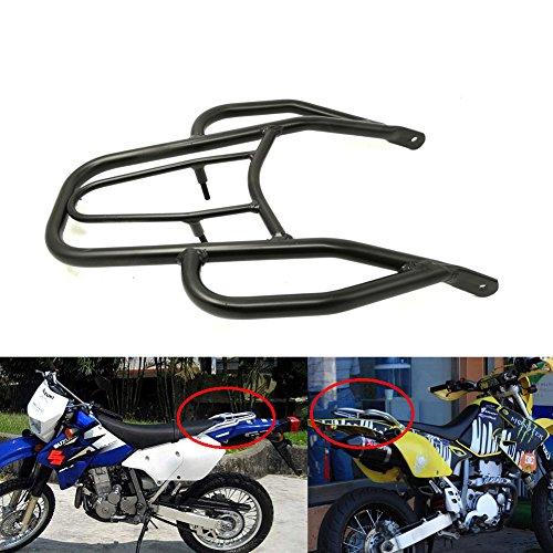 Alpha Rider Black Handle Wing Style Rear Seat Rack Luggage Shelf Holder Rack Stock For Suzuki DRZ-400 E  S  SM 2000-2015