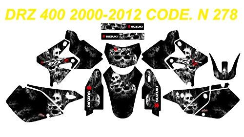 N 278 SUZUKI DRZ 400 2000-2012 DECALS STICKERS GRAPHICS KIT