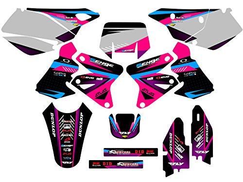 Senge Graphics 2000-2004 Suzuki DRZ 400 Surge Pink Graphics Kit