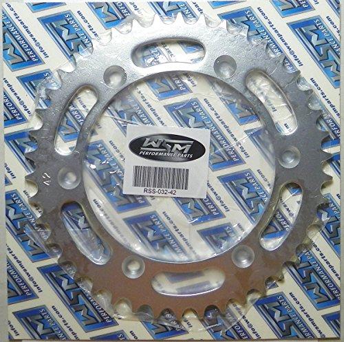 Suzuki Steel Rear Sprocket Moto-X RM 250 1976-1979 RM 250 1980 DR 400 1980 RM 400 1979-1989 42 Teeth RSS-032-42